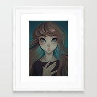 cyarin Framed Art Prints featuring Astrology by Cyarin