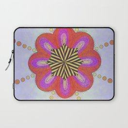 La flor cliptoriana Laptop Sleeve