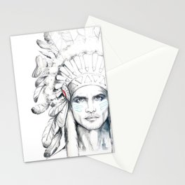 Indian Man Stationery Cards
