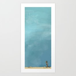 The Longing Is Real Art Print