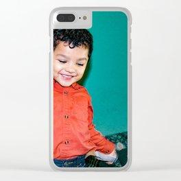 Sebastian Dances Clear iPhone Case
