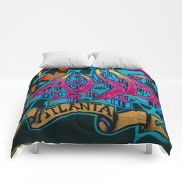 ATL Graffiti Comforters