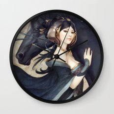 Pepper Empress Wall Clock