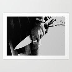 Whiteout: Intention To Kill Art Print