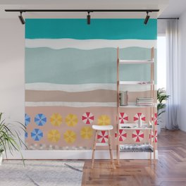 Beach Resort Wall Mural