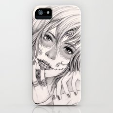 Sugar Skull Girl 2 iPhone (5, 5s) Slim Case