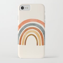 Abstract Rainbow 88 iPhone Case