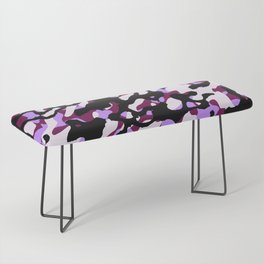 Purple Camo Bench
