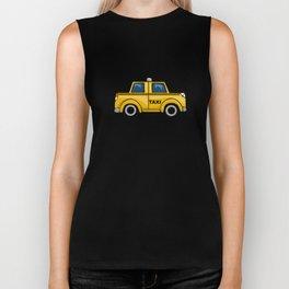 Yellow Taxi Biker Tank