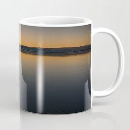 Boat on Knysna lagoon at Sunrise Coffee Mug