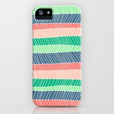 Beach Stripe (Spring) Slim Case iPhone (5, 5s)