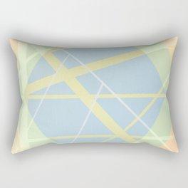 Crossroads ll - color hexagon Rectangular Pillow