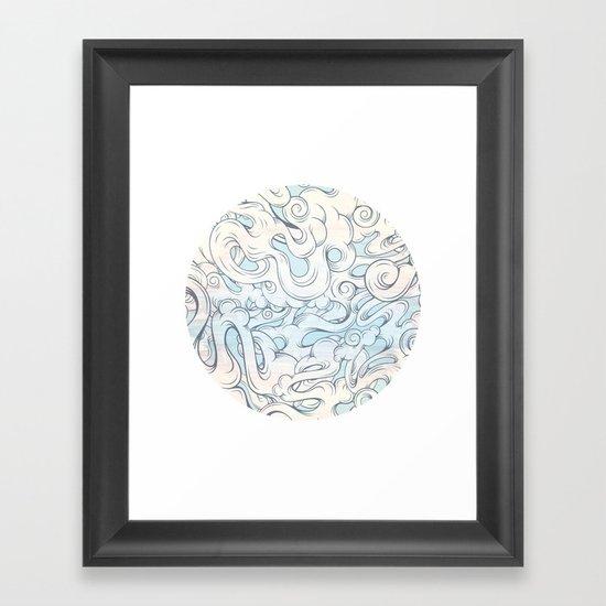 Entangled Souls Framed Art Print