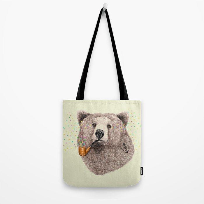 Sailor Bear Tote Bag