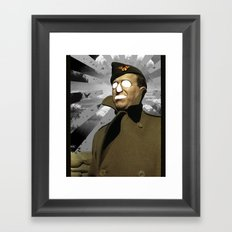 Horror Hero Framed Art Print