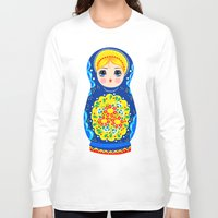 mother Long Sleeve T-shirts featuring MOTHER by Riku Ounaslehto