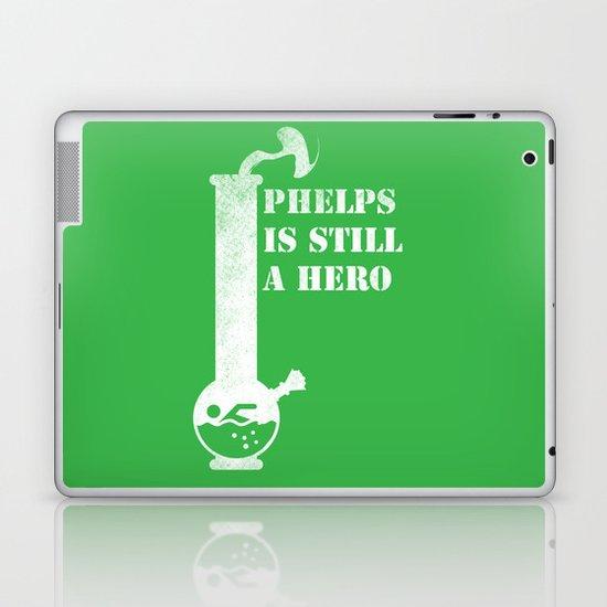 Phelps is Still A hero Laptop & iPad Skin