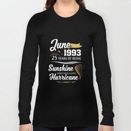 June 1993 Sunshine mixed Hurricane Long Sleeve T-shirt