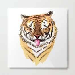 El Tigre Metal Print