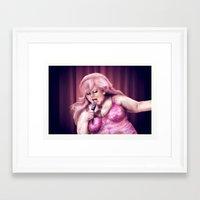 jem Framed Art Prints featuring Jem by tomati-soup