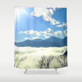 Winter in Slovenia Shower Curtain