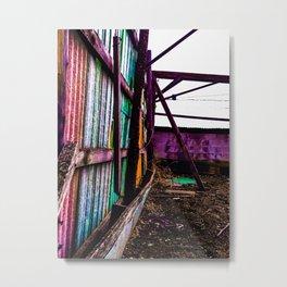 obstruction Metal Print