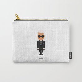 FASHION ICONS - KARL Carry-All Pouch