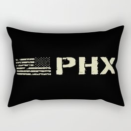 Black Flag: PHX (Phoenix) Rectangular Pillow