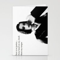 dana scully Stationery Cards featuring Dana by PowerShadowX