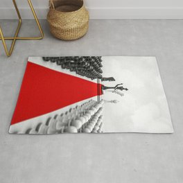 Wedding Chess / 3D render of checkmating ceremony Rug