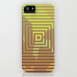 TOPOGRAPHY 2017-018 iPhone Case