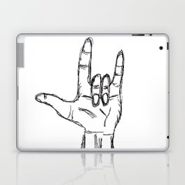 I love you in ASL Laptop & iPad Skin
