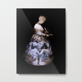 Madame de Villeneuve Metal Print