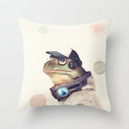 Star Team - Slippy Throw Pillow
