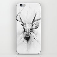 stag iPhone & iPod Skins featuring Stag by Alexis Marcou