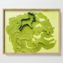 Gingerbread for Grinch Serving Tray