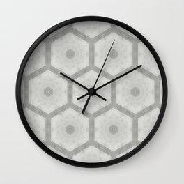 Pencil honeycomb Wall Clock