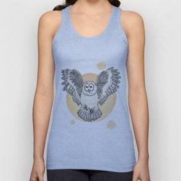 Owl Be Back Unisex Tank Top