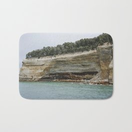 Painted Coves at Pictured Rocks National Lakeshore Bath Mat