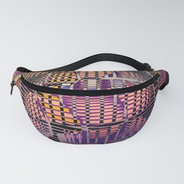 Atlante 10-06-16 / RETICULAR SURFACE Fanny Pack
