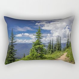 Trail to the Sky Rectangular Pillow