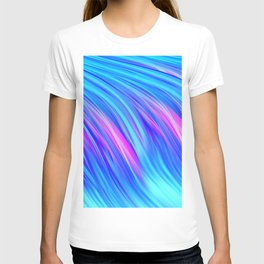 Waterfall,  abstract T-shirt