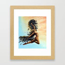 Season of the Legend - Icarus Descending Framed Art Print