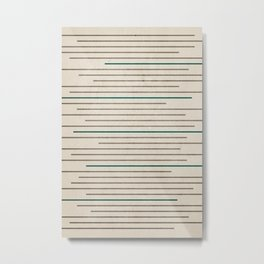 Textured Shapes Nº 09 Metal Print