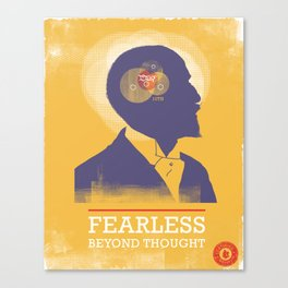 Fearless: Beyond Thought Canvas Print