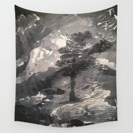The Last Tree - Humans Demise Wall Tapestry