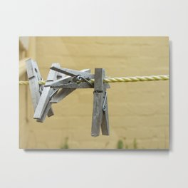 Unpegged Metal Print