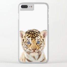 Tiger Art Clear iPhone Case