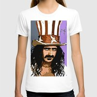 woodstock T-shirts featuring Zappa by Saundra Myles