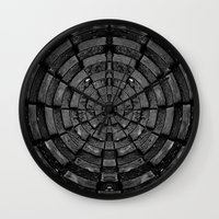 shield Wall Clocks featuring Shield. by Sunsetter Impact